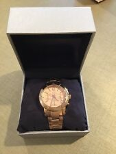 Jennifer Lopez FMDJL110 Rose Gold Stainless Steel Chronograph Women's Watch $165