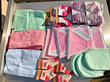 100 BABY SOCKS, MITTENS, KNICKERS, DUSTERS & MORE WHOLESALE JOB LOT!!