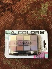 L.A. Colors 12 Color Eyeshadow Palette With Applicator Chic BEP420 BNIP