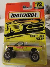 Matchbox Chevy 1500 Pick Up #72