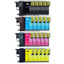 20 Patronen für Brother DCP195C DCP165-C DCP145C DCP375CW MFC250C LC980 LC1100