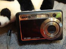 Sanyo VPC-S600 6.0MP Digital Camera - Black