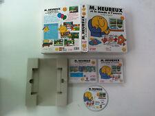 Mr Monsieur heureux et le monde a l'envers Roger Hargreaves PC/MAC Big Box 2001