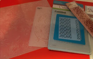 Embossing Folders Tatters Lace - SIZZIX - Cuttlebug etc
