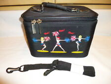 """""""Cheer"""" Train Case w/Strap Carry-all luggage For Make-Up,Toiletries, Accessories"""