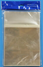 100-pk Clear Resealable OPP Plastic Bag for Standard 14MM DVD case /Seal on body