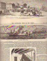 1860 Illustrated News - Garibaldi's triumphs - Calabria