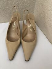 7ec40f5eb0a CHANEL Elastic Heels for Women for sale   eBay