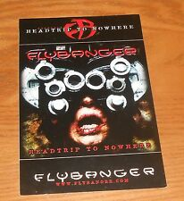 Flybanger Head Trip to Nowhere Sticker 2-Sided Original Promo 4x6