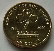 2010 AUSTRALIAN GIRL GUIDES  $1 UNCIRCULATED MINT COIN