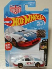 HOT WHEELS PORSCHE '71 PORSCHE 911 MAGNUS WALKER (roues dorées,chassis rouge)