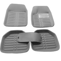 Auto Carpet  Car Floor Mats Front Rear PU Leather Gray left/ right Universal