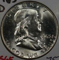1963-D Franklin Half Dollar Mint State #146096