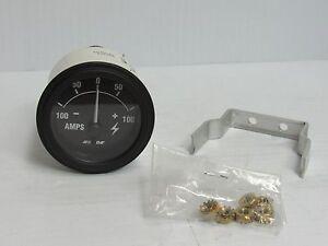 NEW BEEDE AMP GAUGE -100 0 100 -100-0-100 AMPS 943375