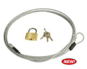 Lock and Cable for EMPI Car Covers - Volkswagen VW Beetle Baja Bug - 15-6415