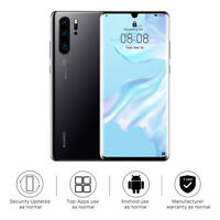 "New Huawei P30 Pro Black 256GB 6.47"" 8GB LTE Dual SIM Android 9.0 Sim Free UK"