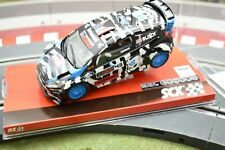 "A10157X3U0 SCX 1/32 SLOT CAR FORD FIESTA RC WRC ""BLOCK"""