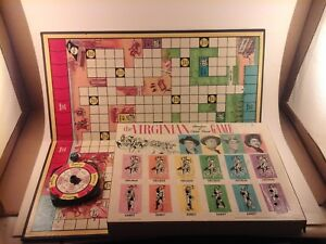 The VIRGINIAN 1962 Board Game Adventure Shiloh Ranch TV Show - Replacement Parts