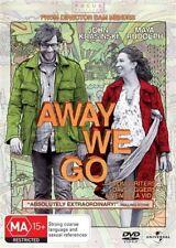 Away We Go (DVD, 2010) NEW
