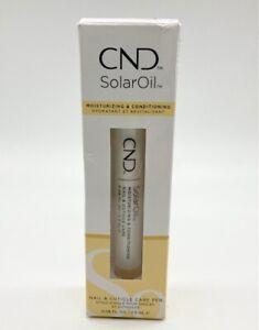 CND SolarOil Nail & Cuticle Care Pen 2.36ml - NEW - Damaged Box #5815