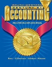 Intro Course Chpt 1-17, Century 21 Accounting Multicolumn Journal 7E: Anniversar