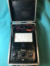 Simpson 260 Series 6 Multimeter With Hard Case Amp Leads