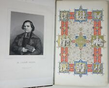 Abbé ORSINI La Vierge 2/2 gravures page de titre en couleurs - Ed A. René 1844