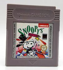 JEU NINTENDO GAMEBOY SANS BOITE SNOOPY'S MAGIC SHOW