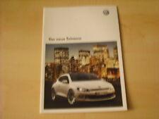 50455) VW Scirocco Prospekt 06/2008