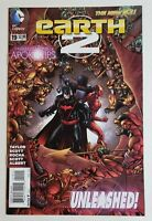 Earth 2 1st Appearance of Val-Zod Black Superman Kryptonian  DC Comics