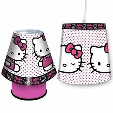 Hello Kitty Lamp & Light Shade Set Girls Bedroom Lighting Decoration Gifts