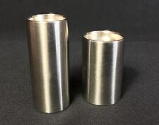 More details for 1960s vintage cylinda line stainless steel cruet arne jacobsen stelton denmark