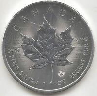 Canada 5 Dolares 2020 Hoja de Arce plata pura @ Novedad ENERO @
