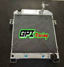 For JAGUAR MARK 2 MK2 MK II DAIMLER 2.5 V8; V8-250 AT aluminum  radiator 56MM