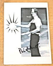 Gerhard richter oswald signé allemand art postcard uacc distributeur inscrit