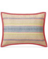 """Ralph Lauren 15"""" x 20"""" Decorative Pillow Cayden Tickling Stripe A9Z330"""