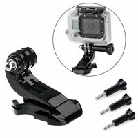 EEEKit Vertical Surface J-Hook Buckle Mount+Screw for GoPro SJCam Action Camera