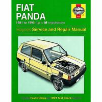 Fiat Panda 1981 - 1995 Haynes Manual 0793 NEW