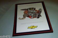 1963 427 Mystery Motor Daytona David Kimble Illustration 18x12 cut away mount