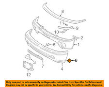 GM OEM Front Bumper-Air Deflector Retainer 14093088