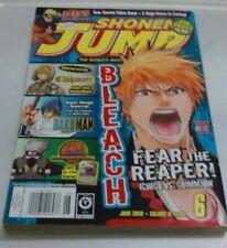 Shonen Jump - June 2010 - Vol 8 Issue 6 - ONEPIECE, Yu-Gi-Oh, Naruto RARE Manga