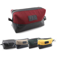 Men's Wash Bag Ideal for Travel holding Toiletries Shaving kit soap Accessories