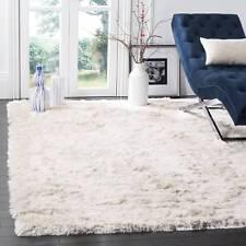 safavieh handmade silken glam paris shag ivory rug 3u0027 x 5u0027