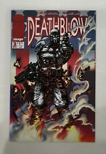 DEATHBLOW #2 (Cybernary #2) Image Comics - includes POSTER still attached (1993)