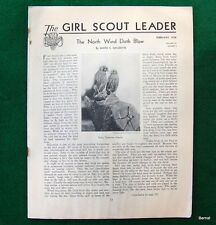 GIRL SCOUT - 1938 GIRL SCOUT LEADER - FEBRUARY