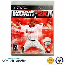Major League Baseball 2K11 (PS3) **GREAT CONDITION**