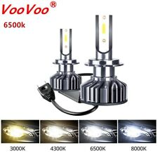 H7 10000LM 72W CREE LED Headlight Kit Bulbs Low Beam High Power 6000K CANBUS