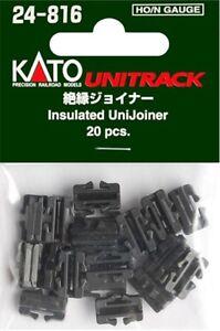Kato 24-816 HO/N Insulated Unijoiner Pack of 20