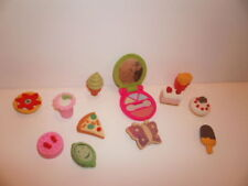 3D Fun Food mak up Shapes Eraser Pack of 12