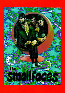 SMALL FACES  POSTER. Approx A3 REPRO. Mod, psychedelia, 60's, Pop.